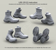 Live Resin, 1/35,LRE 35123, Botas de Asalto Oakley Sabot alta, escala 1/35