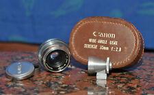 Exellent Canon Serenar 35mm f2.8 <EP> Zeiss Biogon Copy Leica Rangefinder M39