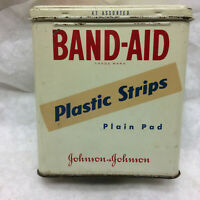 Vintage Band-Aid Tin Box Johnson & Jonson