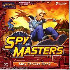 SPY MASTERS by JUMP START:MAX STRIKES BACK. BRAND NEW. SHIPS FAST and SHIPS FREE