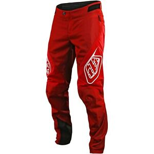 Troy Lee Designs Sprint Pants Youth Kids TLD MTB Downhill DH BMX Gear 2020 RED