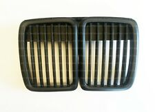 BMW E30 Shadowline 3 series M3 Euro Ellipsoid Headlight Grills Grill Kidney 325
