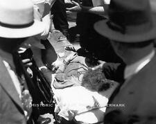 BONNIE AND CLYDE VINTAGE DEATH PHOTO BONNIE PARKER AFTER AMBUSH - #20762