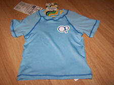 Size Small - Med 20-33 lbs OP Ocean Pacific Blue Swim Surf Rash Guard Top New