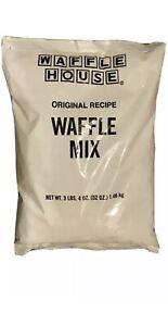 WAFFLE HOUSE WAFFLE BATTER Origianl Recipe Waffle Mix 3 LB 4 OZ  Expire 10/21