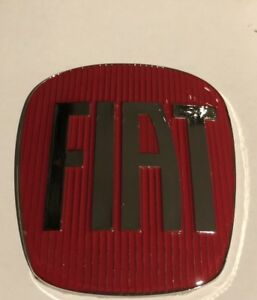 FIAT 500 Front or rear Overlay Badge