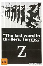 Z (DVD, 2011 release)