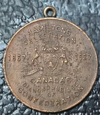 1867-1927 Hamilton'S Celebration Medal - School Boys Softball on reverse - Nice