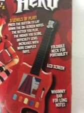 Guitar Hero Red Playable Pocket-Sized Monster Video Game 10 Track Segments NIB
