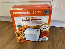 Panasonic SD-253 Bread Maker Automatic. Includes raisin and nut dispenser.