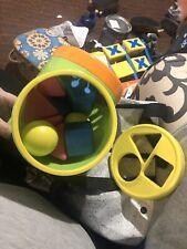 Tomy Happy Shape Sorter - Missing 2 Yellow Balls