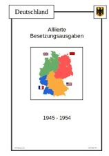 Deutschland Alliierte Besetzung Vordruckblätter Vordrucke Album Download