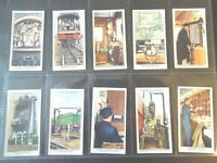 1938 Wills Railway, Railroad, Train Tobacco cards complete EX.  50 card set