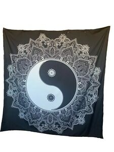New Yin Yang Tapestry with Floral Paisley Detail