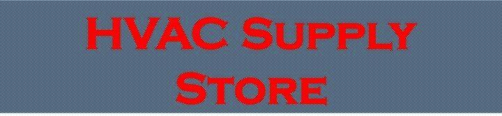 HVAC Supply Store