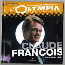 ► CLAUDE FRANCOIS  A L'OLYMPIA 1964 - CONCERT MYTHIQUE - UNIVERSAL MUSIC FRANCE