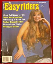 EasyRiders Magazine #143 May 1985 David Mann Centerfold NEW Condition