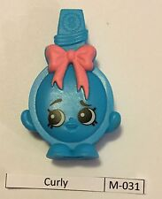 #10 Shopkins McDonalds Happy Meal Curly M-031 With M-036 Kitty Flats