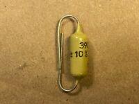 NOS Vintage Mullard .0039 uf 400v Mustard Capacitor Guaranteed 3900 pf (Qty Ava)