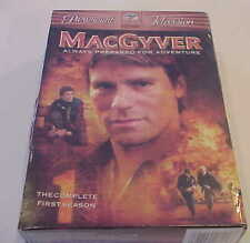 MacGyver - The Complete First Season (Dvd, 2005, 6-Disc Set) Sealed In Package