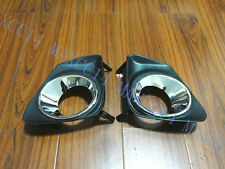 Pair Front Bumpers fog lamp light lamps cover for Toyota Corolla 2010-2012
