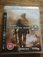 Sony PlayStation PS3 COD Call Of Duty MW2 Modern Warfare 2 Video Game