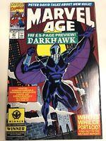 Marvel Age (1991) # 97 (NM) 1st App Darkhawk