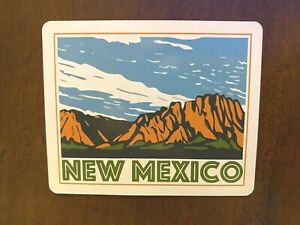New Mexico Sticker Travel Retro Waterproof - Buy Any 4 for $1.75 Each Storewide!