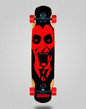 Skate Longboard Complete Mix Bamboo 38x8.45 Glutier Castle King