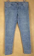 Billabong Jeans Size 29 Seeker Geometric Pattern Denim  MSRP $68. NWT Skater