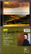 John Eliot GARDINER Signed ELGAR Enigma Variations In the South Sospiri Allegro