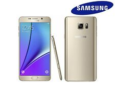 GOLD 32GB Samsung Galaxy Note 5 - UNLOCKED SIM FREE 2015 Mobile Smart Phone N920