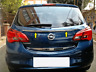 Vauxhall Opel Corsa E 2015Up Chrome Rear Trunk Tailgate Lid Cover S.Steel