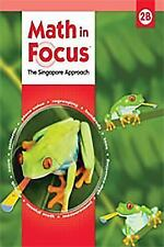 Math in Focus: The Singapore Approach, Level 2B, Grade 1-5 by Kheong, Good Book