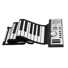 61 Key Foldable Silicone Electric Digital Roll-up Keyboard Piano Music Toy _GG