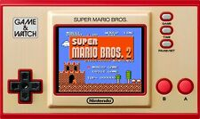 NEW Nintendo Game and Watch Super Mario Bros Electronic Handheld Console & Clock
