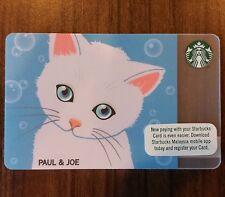 Starbucks Malaysia Card - Paul & Joe (with Sleeve)