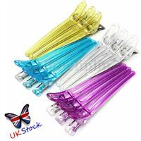 12X Colorful Hairdressing Sectioning Duck Clips Clamps Hair Grip Salon
