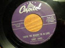 CAPITOL 45 RECORD/SONNY JAMES/YOUNG LOVE/YOU'RE THE REASON I'M IN LOVE/EX/EX+