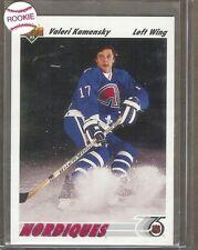1991-92 Upper Deck #272 Valeri Kamensky Rookie Hockey Card Mint