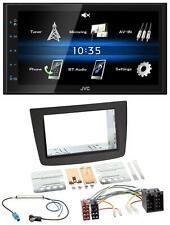 JVC 2din Bluetooth mp3 USB AUX AUTORADIO PER ALFA ROMEO MITO 08-14 955 ISO ne