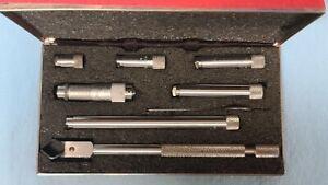"""Starrett 823 Inside Tubular Micrometer 1 1/2"""" To 8.0"""""""