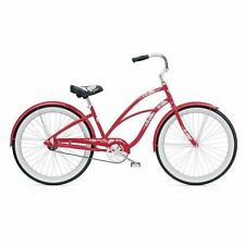 Fahrräder in Rot