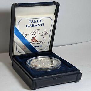 1994 Finland Silver Proof 100Mk 177433p