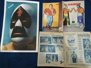 EL HALCON   NUM 775 MAGAZINE IN SPANISH  SANTO , SOLITARIO, MIL MASCARAS