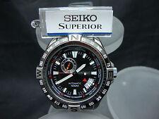 Nuevo Seiko 100m Diver Superior Con Pulsera De Acero Inoxidable SSA095 NS10.