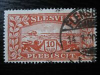 SCHLESWIG GERMAN PLEBISCITES Mi. #14 used stamp! CV $4.80