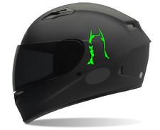 Batman helmet decals (2)  Motorcycle helmet decals, Sticker