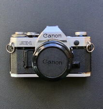Canon AE-1 - VGC Fully Working, New Battery - 35mm SLR w/ FD 50mm 1.8 Lens