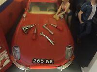 1:18 Diorama Garage Tools Set 1/18 ((SET 2))